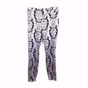 NY&C 7TH AVE FLORAL SKINNY PANTS